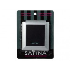 High Definition Square Black Compact Dual Sided Mirror