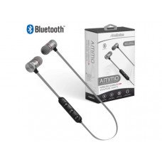 Acellories Ammo Silver Wireless Bluetooth Earbuds
