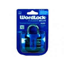 WordLock Resettable Combo Lock in Assorted Colors on Clip St