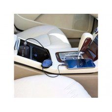 2-in-1 2200 mAh Powerbank USB Car Charger/ Retract Micro USB