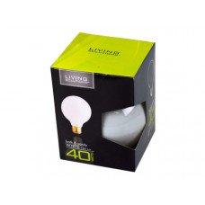 Living Solutions 40 Watt White Bath and Vanity Light Bulb