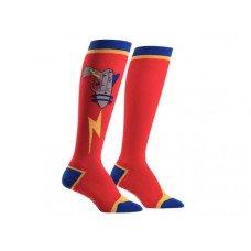 Knee High Socks Raygun Pattern One Pack