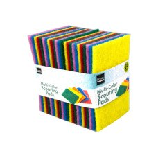 24 Pack Multi-Purpose Scouring Pads