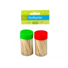 2 Pack Toothpicks with Dispenser