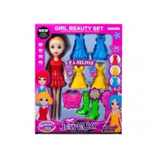 Fashion Doll with Snap-on Fashion Outfits