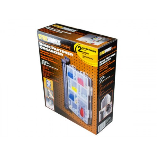 Deluxe Fastener Organizer Kit with 2 Assortments Included