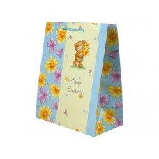 Teddy Bear Birthday Medium Gift Bag