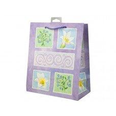Lavender Flowers Medium Gift Bag