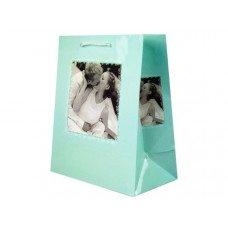 Turquoise Romantic Medium Gift Bag