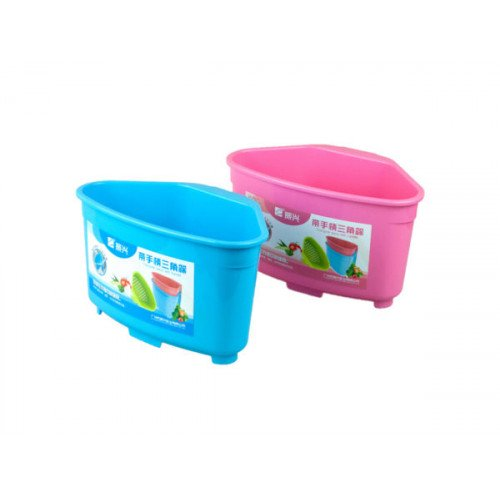 Plastic Strainer with Handle in Assorted Colors