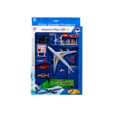 Assorted Transportation Play Set