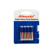 AAA Super Heavy Duty Batteries in Blister Pack of Four