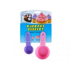 Cupcake Perfect Mini & Regular Sized Batter Scoops