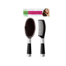 Hair Brush & Comb Set