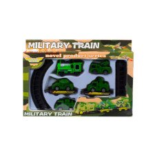 Battery Operated Military Train with Rails