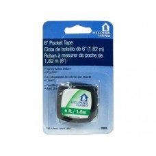 Helping Hands 6' Pocket Tape Measure