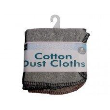 5 Pc Cotton Dust Cloths