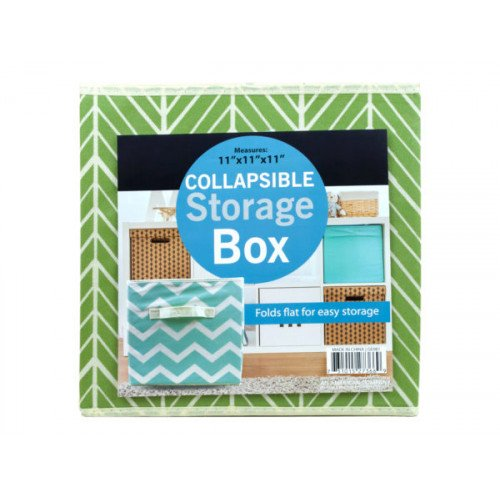 Collapsible Woven Fabric Storage Box