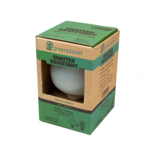 Green Planet Shatter Resistant 40 Watt Replacement Vanity Bu