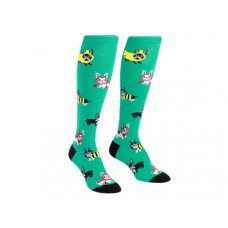 One Pack Knee High Socks Costume Party Pattern