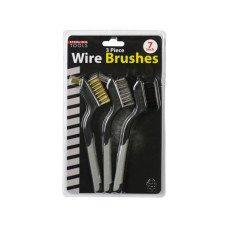 3 Pack Mini Wire Brush Set