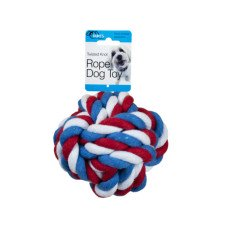 Twisted Knot Rope Dog Toy