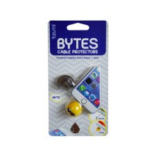 Cord BYTES 2 Pack Assorted Emoticon Cord Protectors