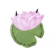 "4.75"" Flower Ceramic Decor Ornament"
