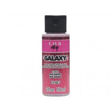 2 Oz Glitter Fabric Paint in Big Bang Pink
