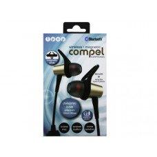 iPop Compel Gold Bluetooth Earphones with Case