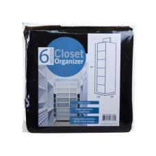 6 Section Hanging Storage
