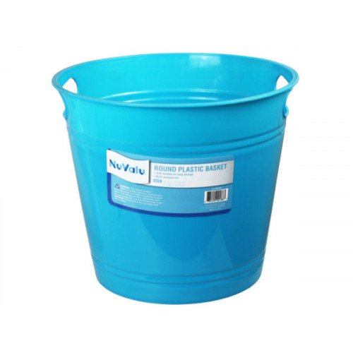 Plastic Basket 9.6 x 8.3 In Assorted Colors