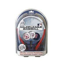 Boston Red Sox MLB Detachable Graphic Headphones
