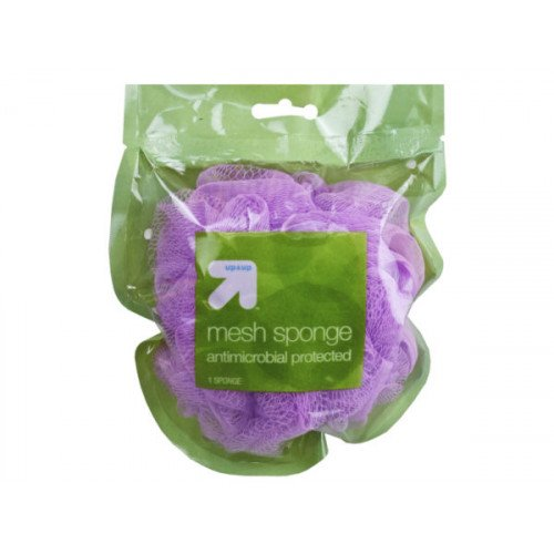 Up & Up Antimicrobial Mesh Bath Sponge in Assorted Colors