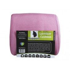 Pharmedoc Pink Lumbar Pillow Seat Cushion