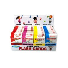 Jumbo Double Sided Flash Cards Countertop Display