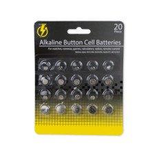 Alkaline Button Cell Batteries