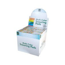 Scouring Sponge Pad Set Countertop Display