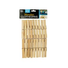Wooden Clothespins