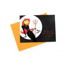 """Wicked Fun"" Halloween Party Invitations"