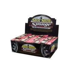 Shoe Shine Sponge Counter Top Display