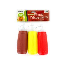 Picnic Condiment Dispensers