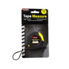 Tape Measure with Rubber Outer Grip