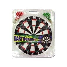 Dartboard with Metal Tip Darts