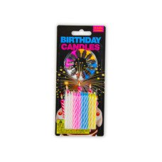 Birthday Candles with Decorative Holders Set