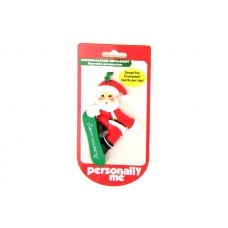 """Happy Holidays"" Santa Ornament"