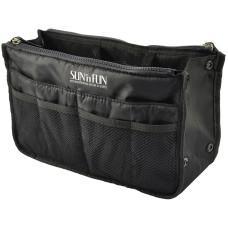 Black Personal Organizational Travel Bag