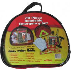 28 Piece Roadside Emergency Set