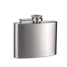 4oz Hip Flask, Stainless Steel