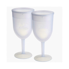 Freezer Goblet Set in Retail Full Color Packaging